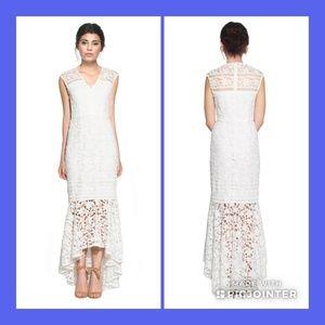 NWT White Shoshanna Hi Lo Dress